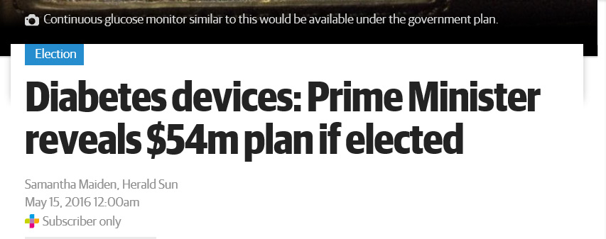 15th-May-2016-Diabetes-devices-Prime-Minister-reveals-54m-plan-if-elected