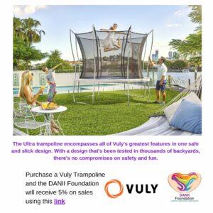 Vuly Trampoline Advertisement